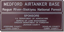 Airtanker Base Sign